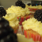 Recipe || Vanilla Blackberry Mascarpone Cupcakes