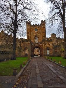 durham castle gates