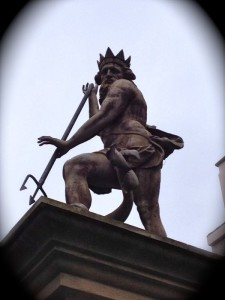 neptune statue durham market