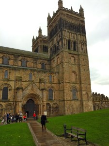 durham cathedral and sam