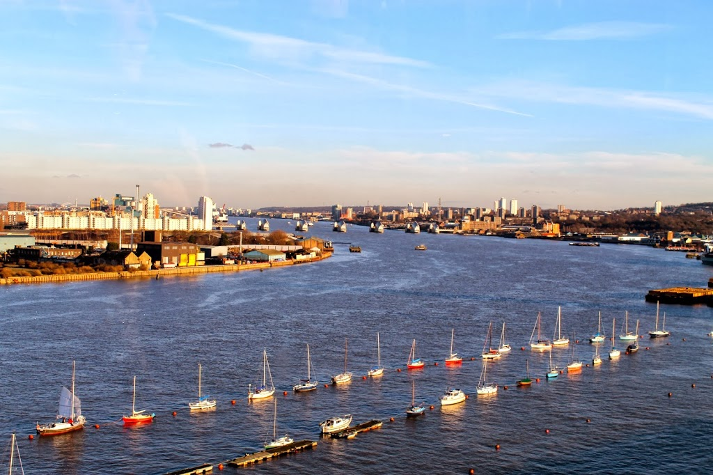 things to do in london: view from the emirates airline