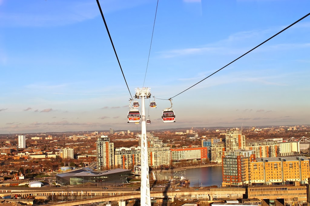 things to do in London, ride the emirates air line