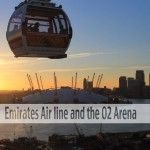 Emirates Air Line and the O2 Arena