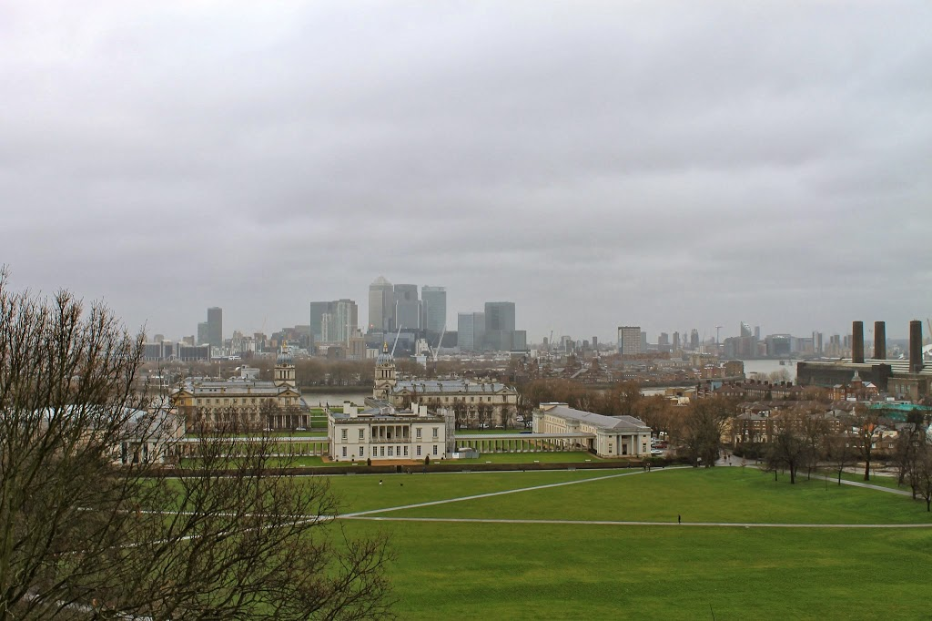 view from the top of greenwich hill