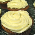 Pumpkin Spice Cupcakes with Maple Frosting
