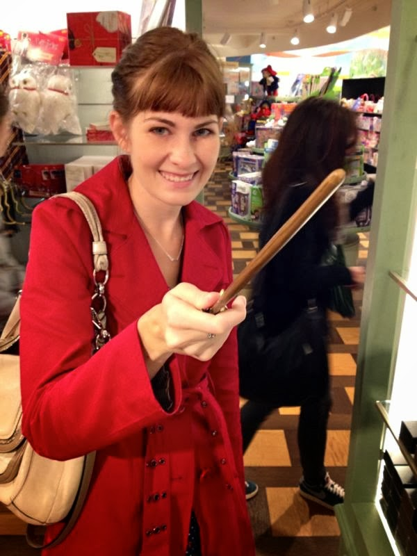 professor lupin's wand