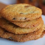 Custard Chocolate Chip Cookies