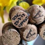 Champagne Cork Initials