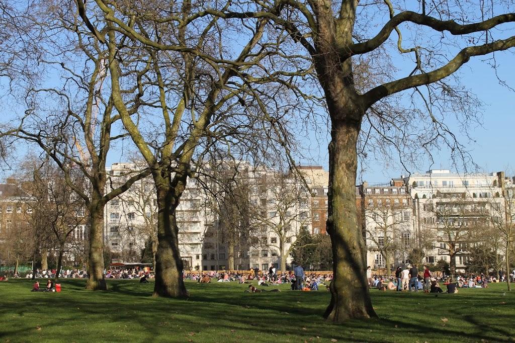 london england spring