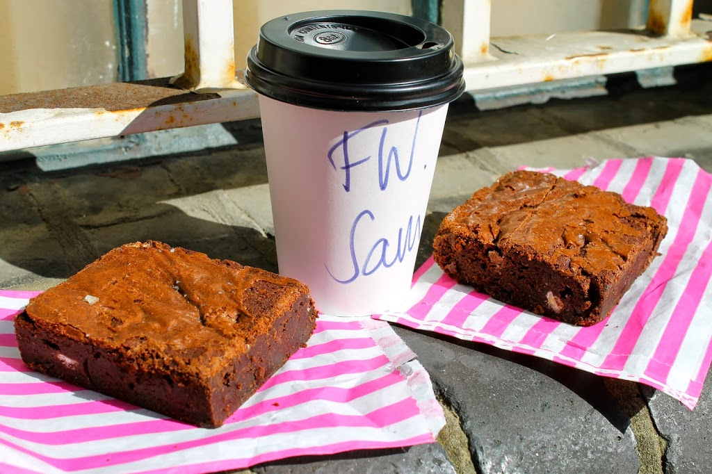 bakery london brownies and coffee