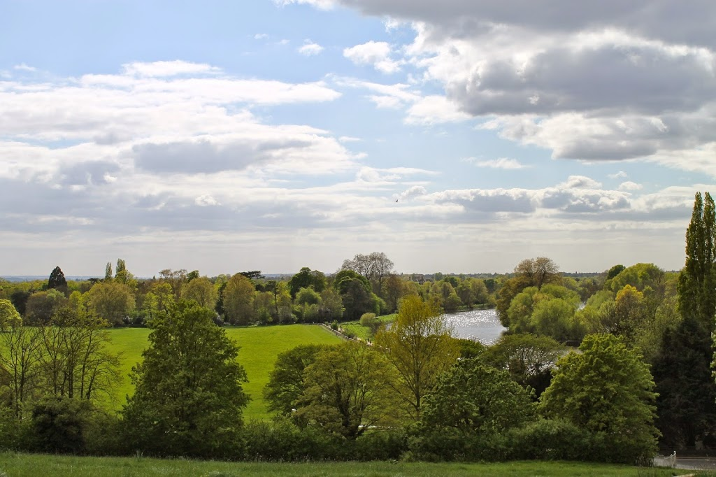 view from richmond, london