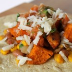 Sweet Potato, Pinto Bean, Corn Tacos