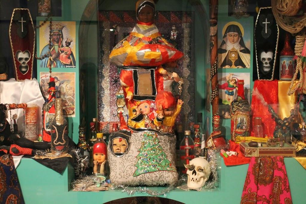 voodoo shrine
