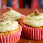 Lemon Pistachio Cupcakes