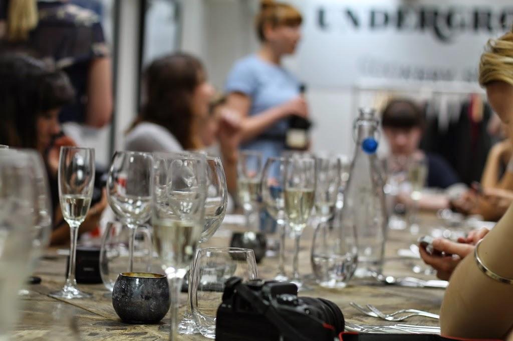 underground cookery school blogging event
