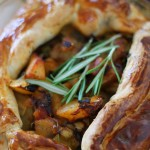Chorizo, Chicken and Potato Open Pie