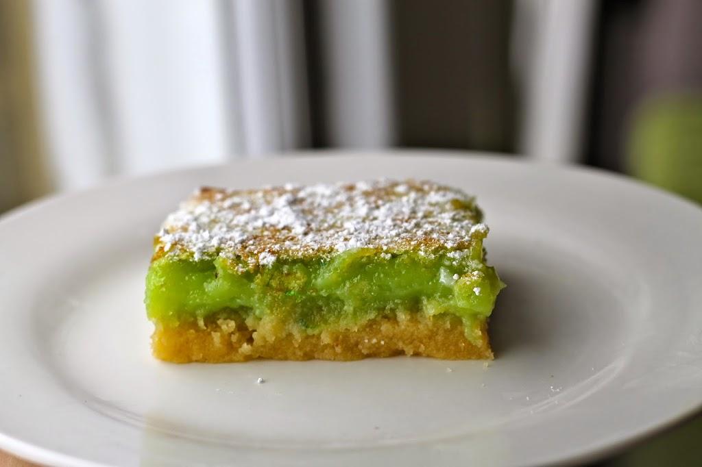 lime squares recipe dessert