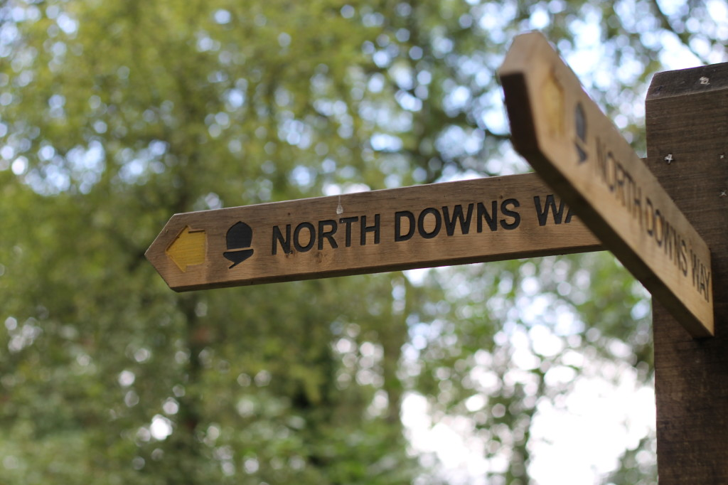 north downs sign