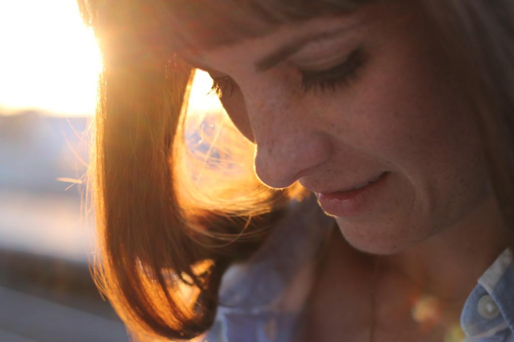 sun in hair