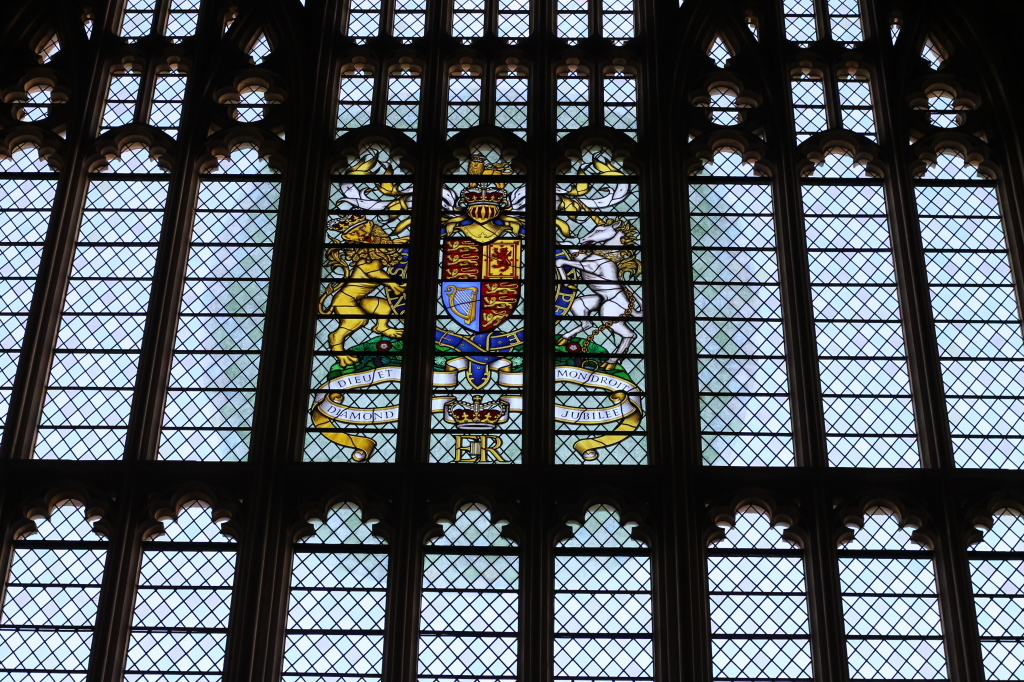 Queen Elizabeth glass