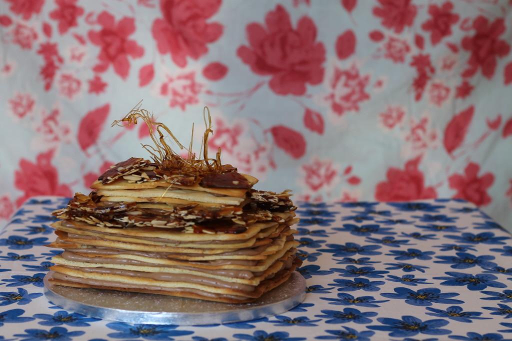 all alone - dobos torte