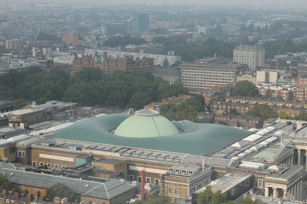 british museum from above