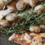Chicken and Mushroom Casserole with Cider