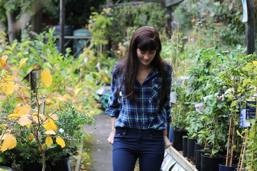 garden centre stroll