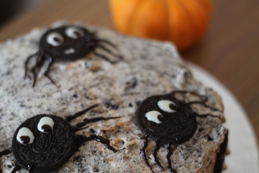 more spider cake