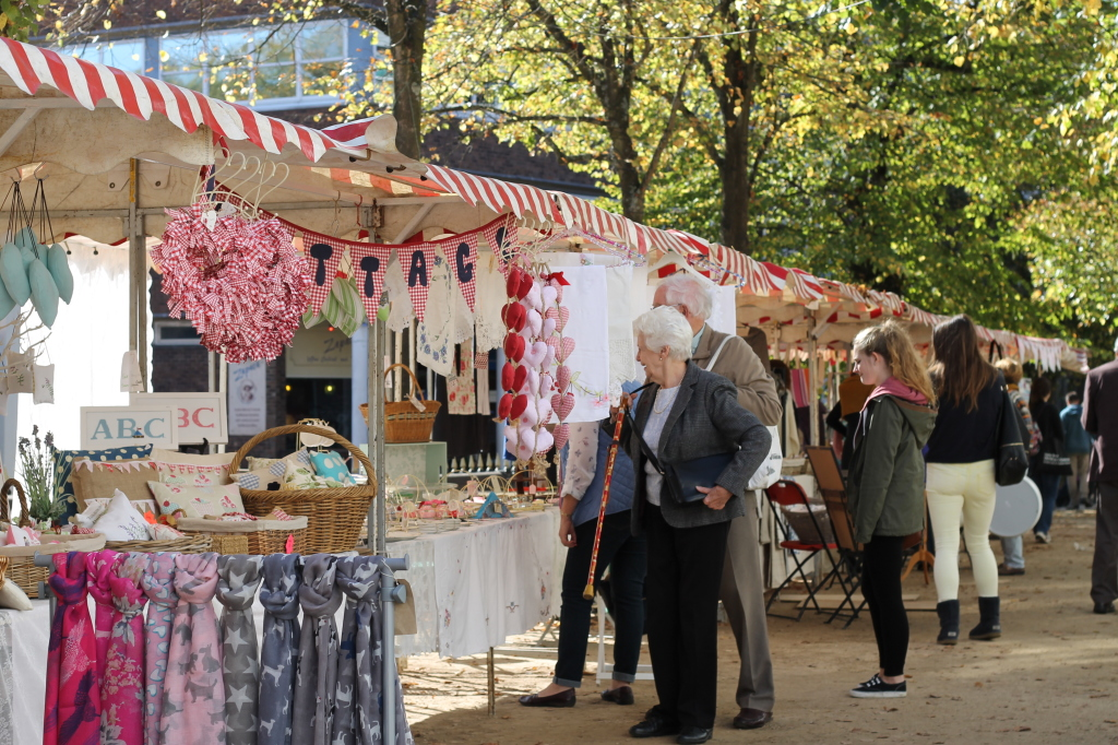 stalls in the pantiles