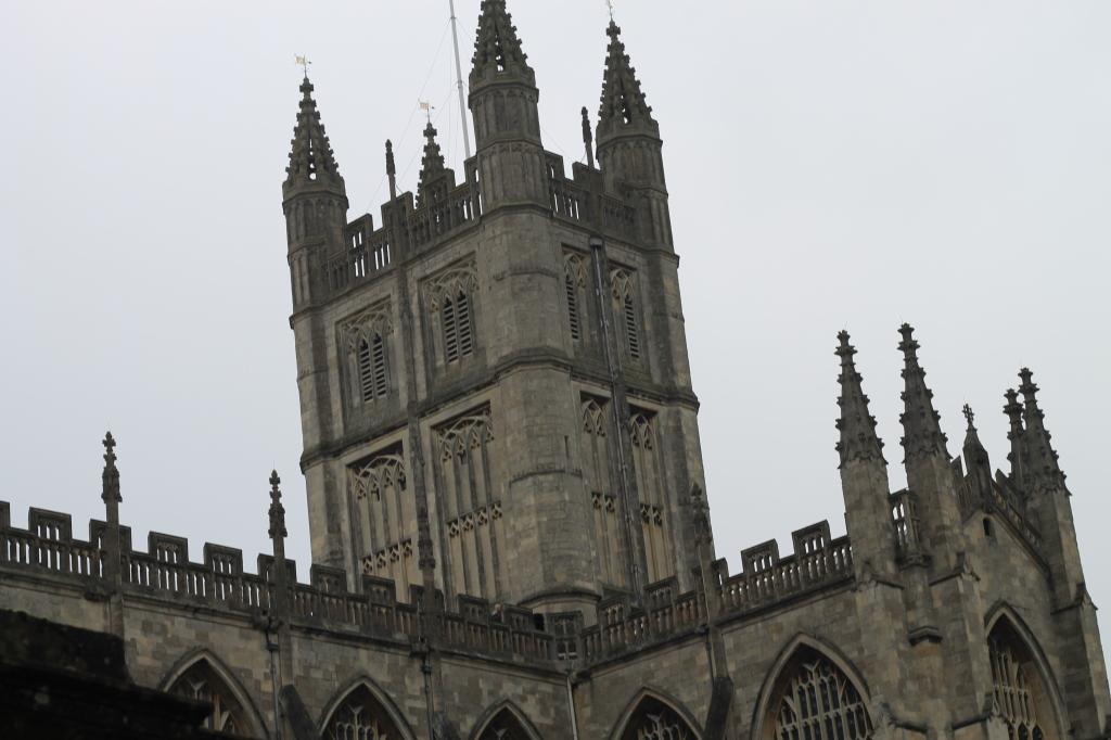 bath abbey tower