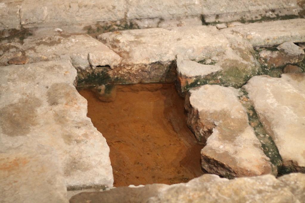 iron sediment pool