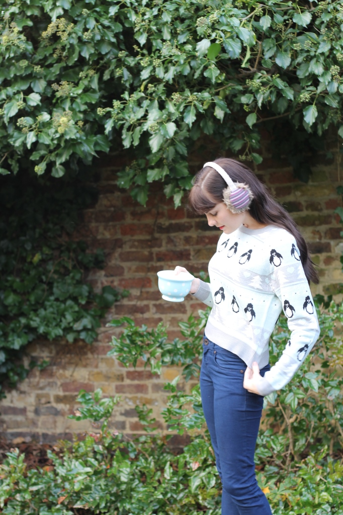mug and brick