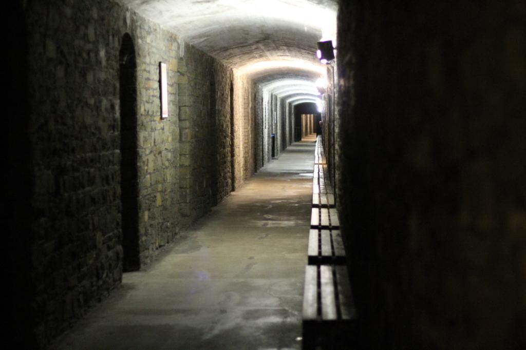 hall bomb shelter