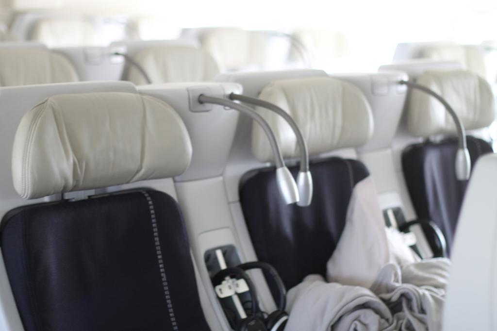 inside air bus