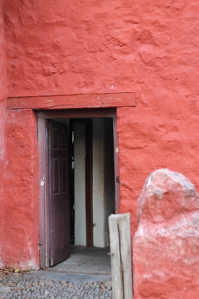red doorway