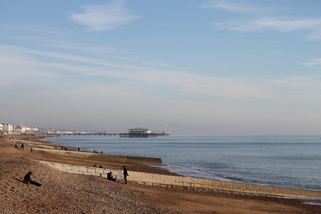 shore towards eastbourne