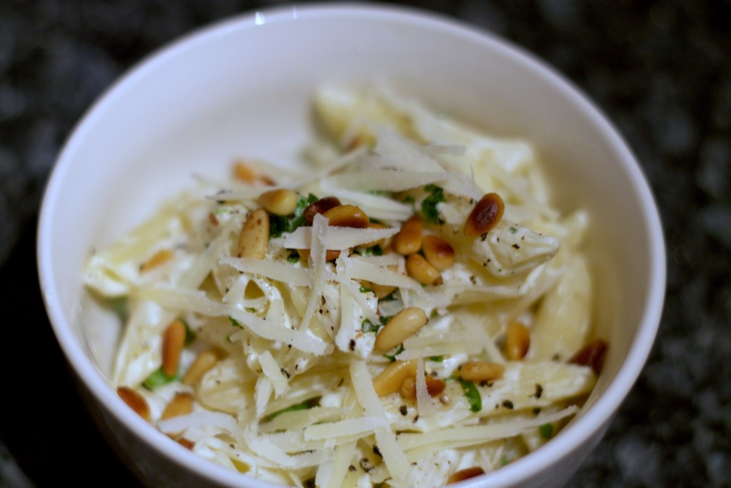 mascarpone pasta