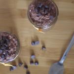 Overnight Brownie Batter Porridge