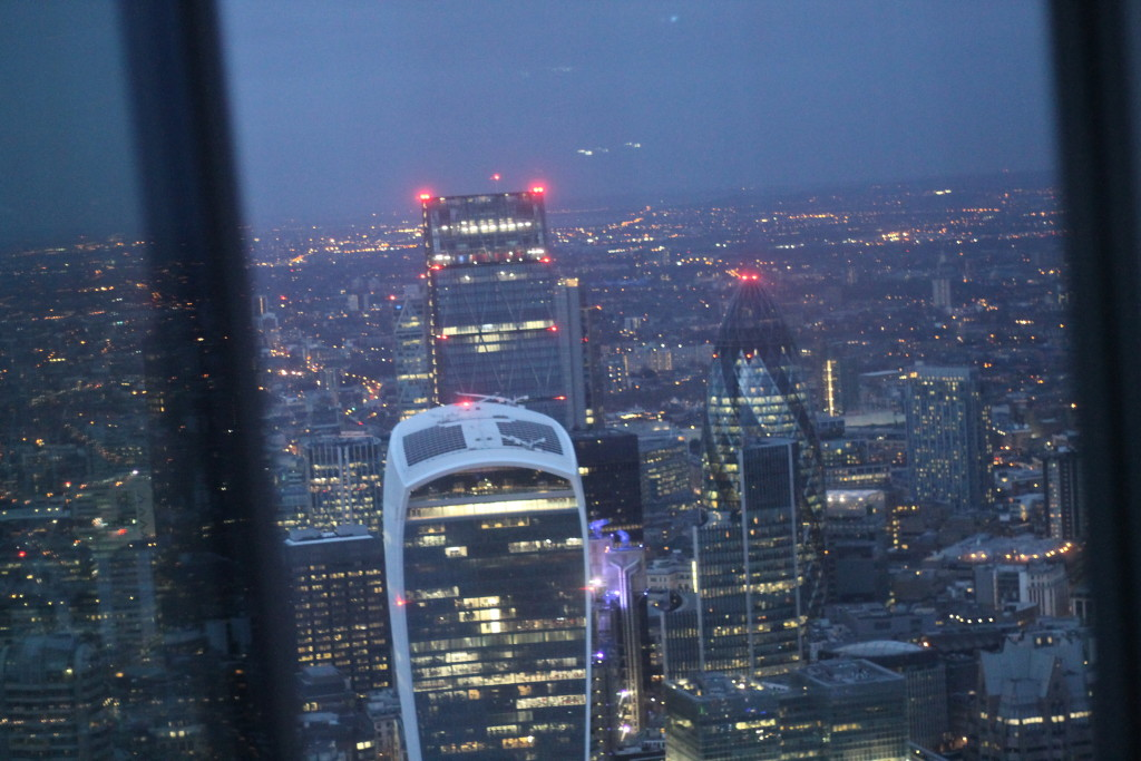 walkie talkie at night