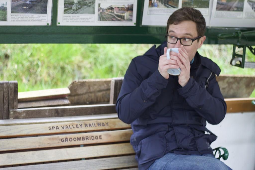 sam and his tea