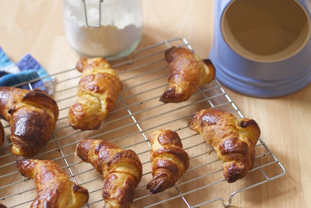 batch of croissants