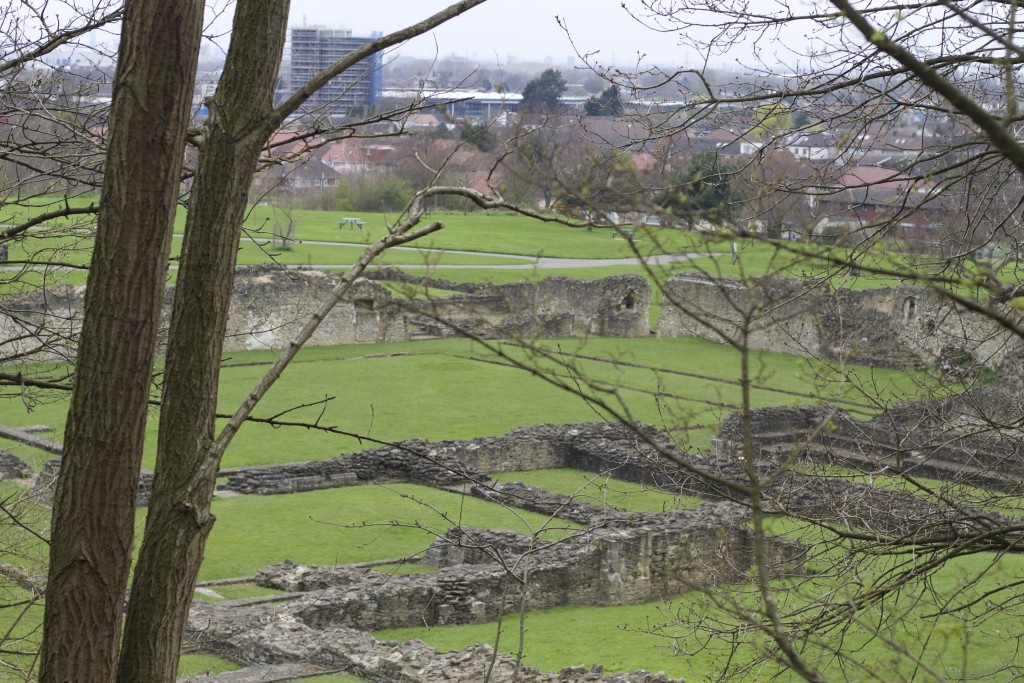 lesnes abbey from green chain walk