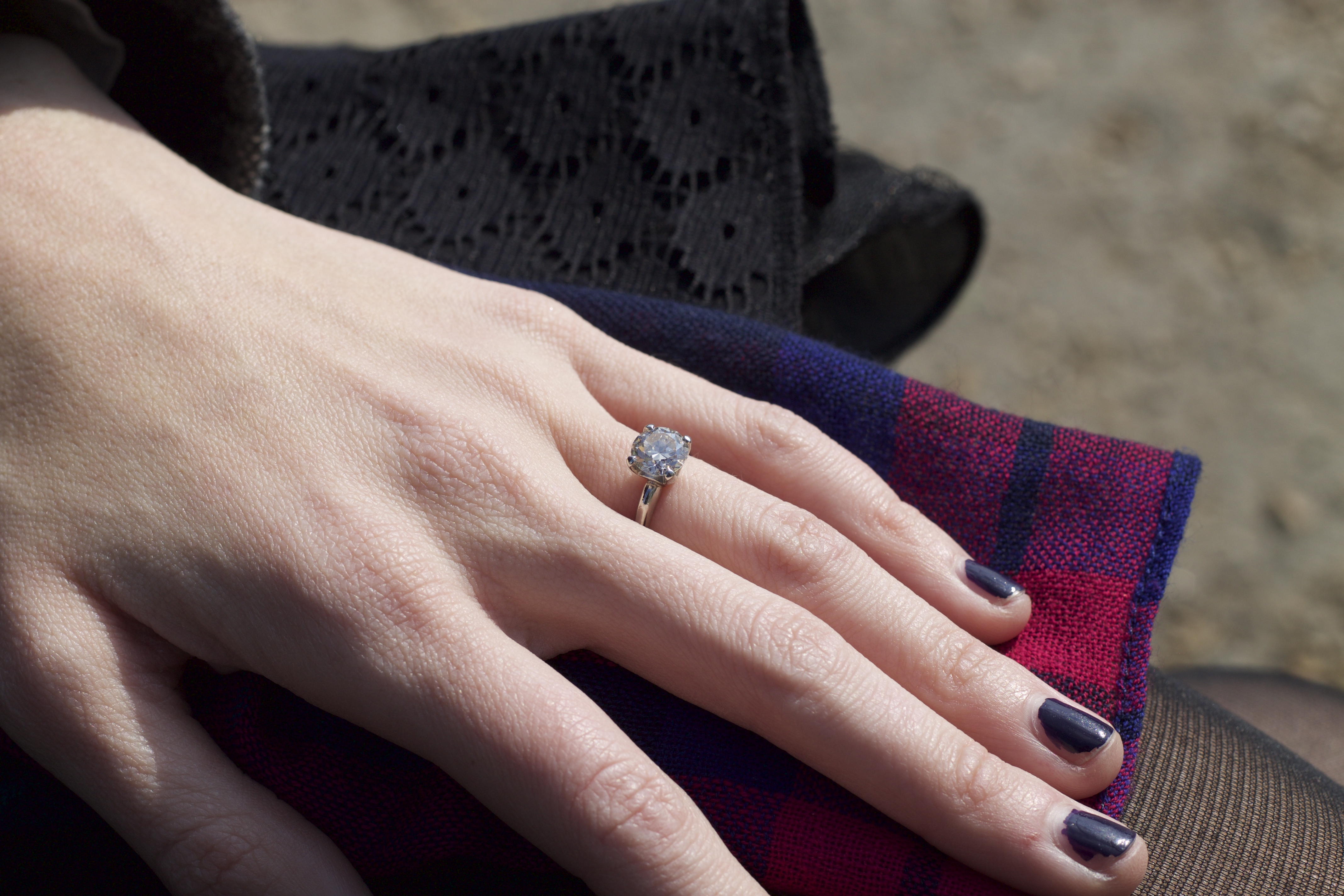 The Story Behind the Engagement Ring - Rhyme & Ribbons