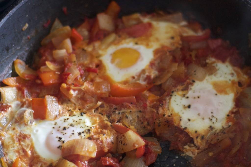 cooked menemen