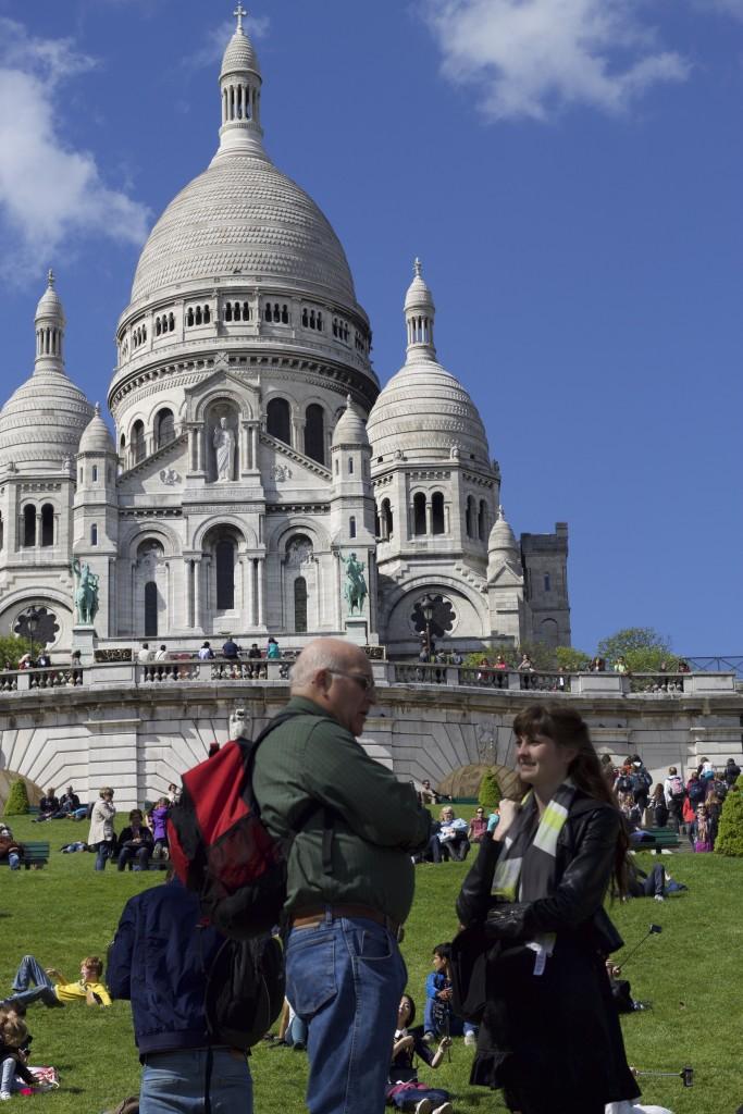 tom and i at the sacre coeur