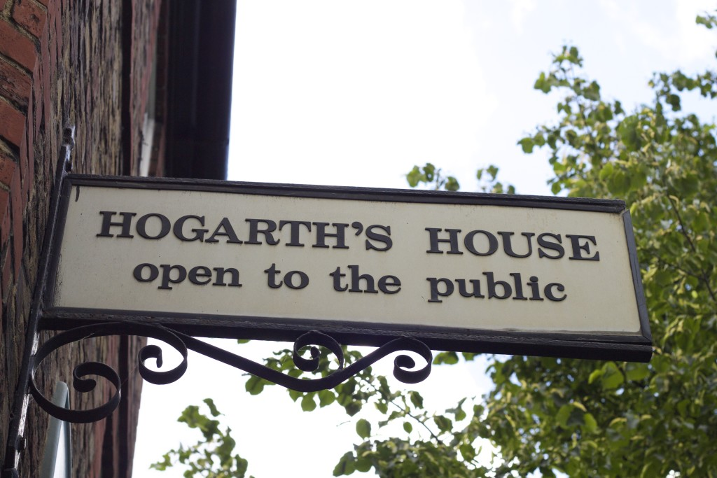 sign for hogaths house