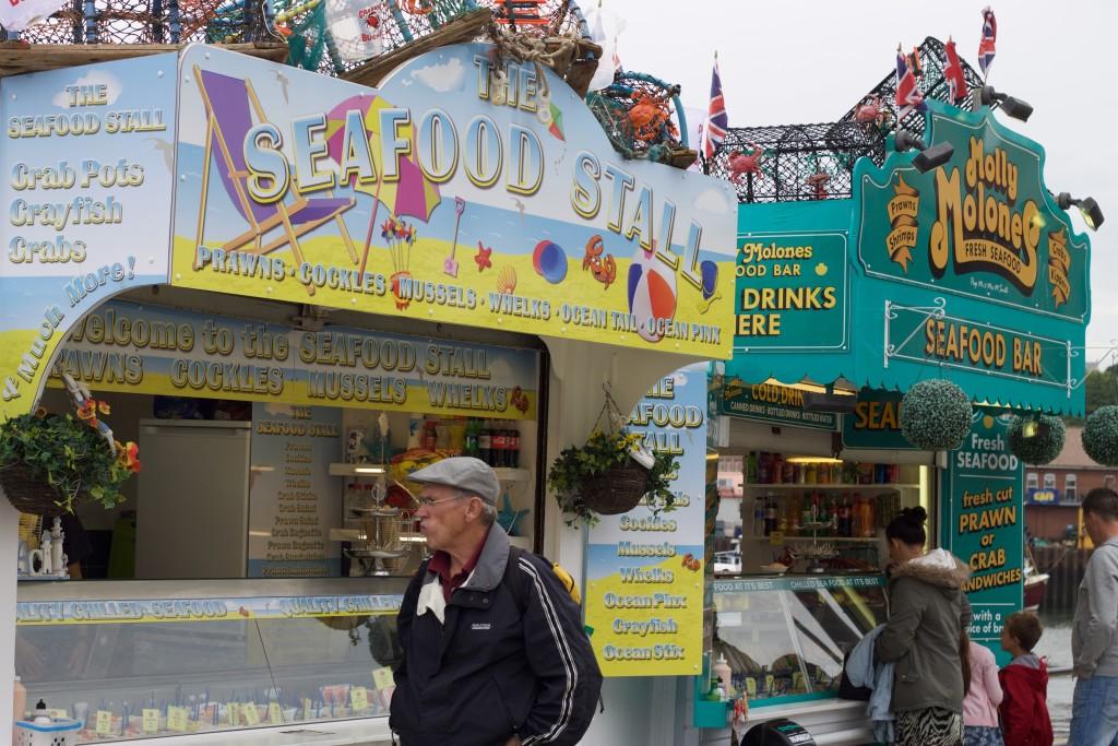 seafood stalls