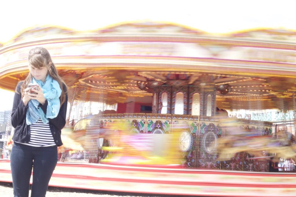 slow motion carousel