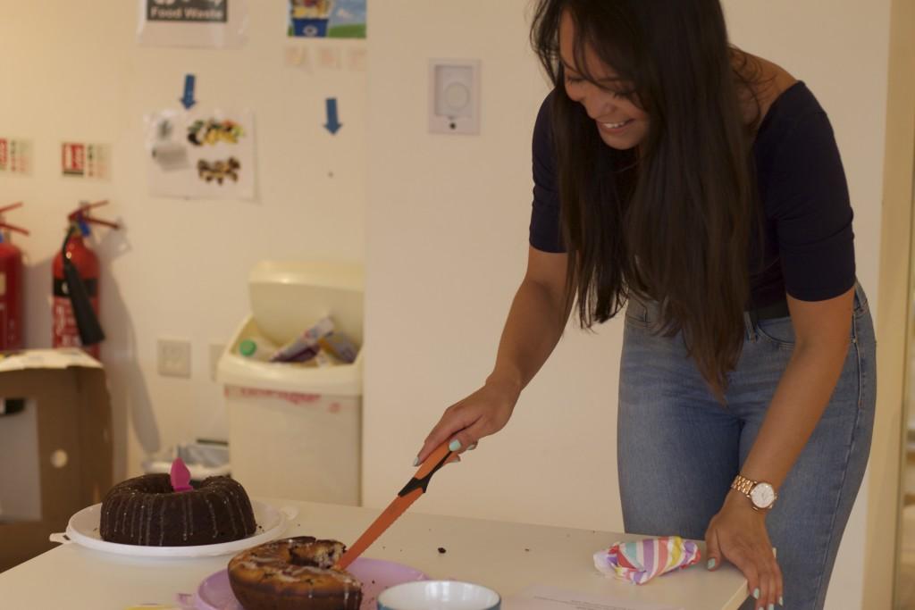 taking cake